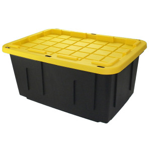 LLC 27-Gallon General Tote, available at Lowes and Home Depot