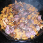Making Corned Beef Hash Prepper Style