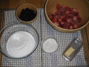 Ingredients for Making Jam