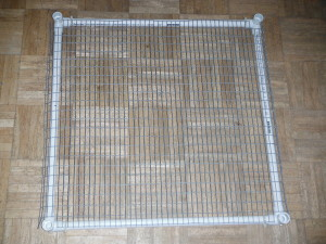 Bottom of PVC cage