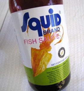Squid Fish Sauce