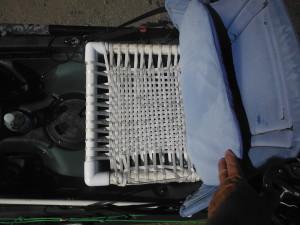 Elevated Woven Nylon PVC Kayak seat