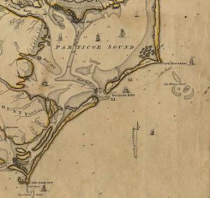 Coast of North Carolina 1775