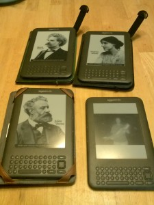 Some of my my Kindles