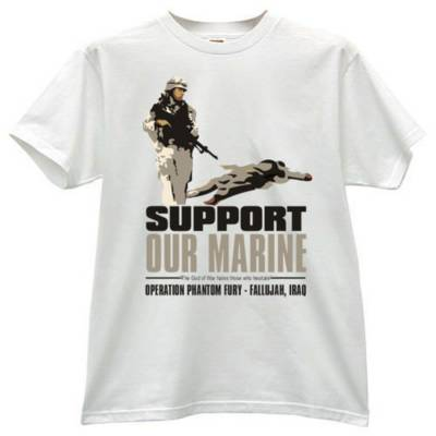 support our marine