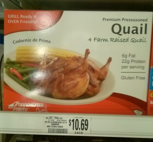 Retail Quail Prices