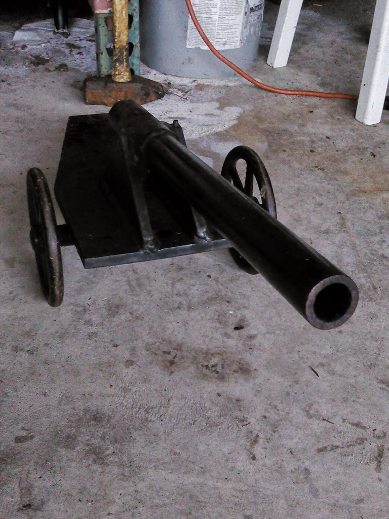 Home Made Blackpowder Cannon