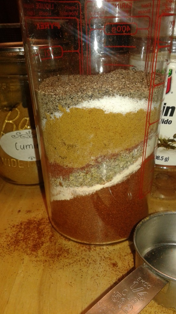 taco seasoning sand art